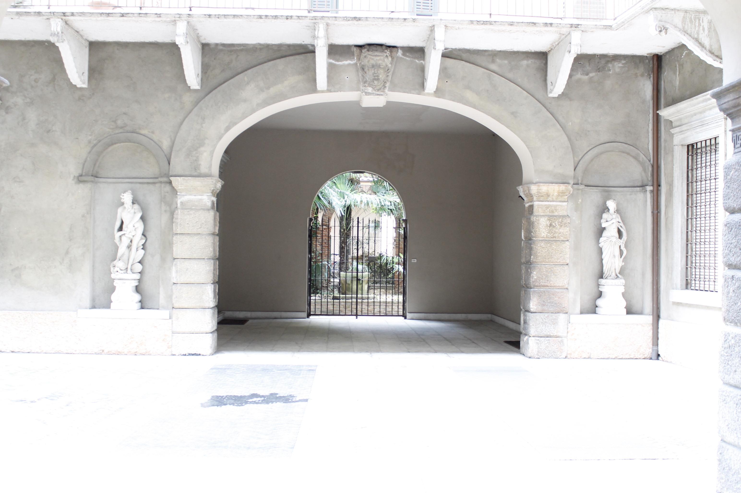 esterno appartamento in centro a Verona