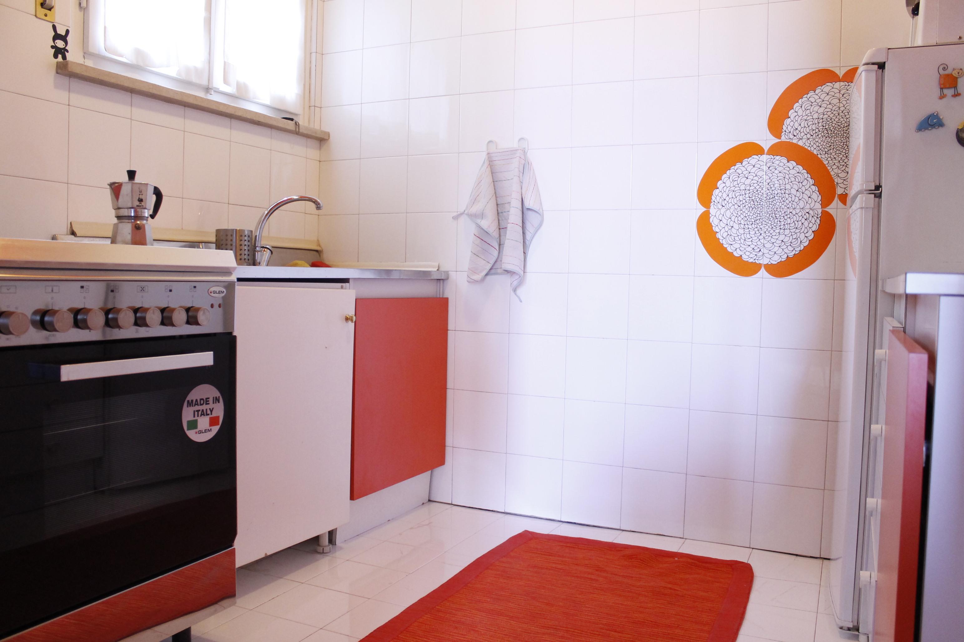 cucina appartamento red rose in centro a Verona